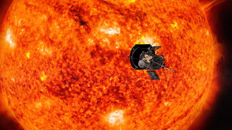 auringon koronan lämpötila