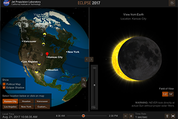 NASA's Eyes on the Eclipse Screenshot
